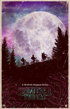 Stranger Things Fan Art Poster | dark_maddoxx