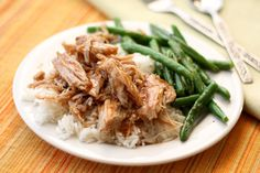 Slow Cooked Pork Roast with a Sweet Tangy Glaze ~ recipe by Barefeet In The Kitchen