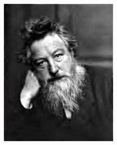 William Morris, (1834 to 1896), was the principal force behind the Arts and Crafts Movement. Along with his life-long friend Edward Burne-Jones, who also designed some of the tapestries, Morris used past influences and the natural world around him to break out of the Victorian stuffiness of his time. He was also a poet, a passionate social reformer, an early environmentalist, an educationalist and would-be feminist.