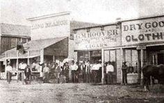 Long Branch Saloon, Dodge City, about the time Luke Short bought it. Long Branch Saloon, Dodge City, about the time Luke Short bought it. Old West Photos, Antique Photos, Vintage Photos, American Odyssey, American History, Carolina Do Sul, Old Western Towns, Old West Saloon, Old West Town