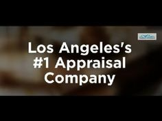 Real Estate Appraiser and Home Appraisal Expert in these areas of Los An...
