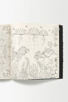 #anthropologie #secret garden: an inky treasure hunt #books