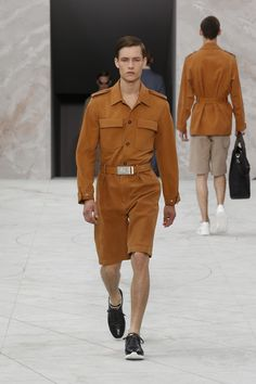 Look 10 from the Louis Vuitton Men's Spring/Summer 2015 Fashion Show.
