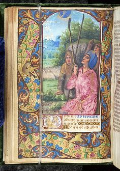 Book of Hours, M.58 fol. 33v - Images from Medieval and Renaissance Manuscripts - The Morgan Library & Museum