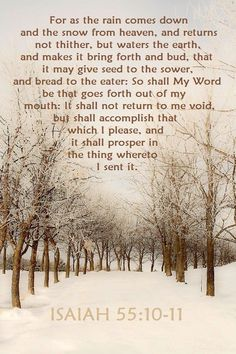 Isaiah You never know that one word spoken.to bring someone to Jesus. (May my words and actions be acceptable to You, O Lord. Bible Verses Quotes, Bible Scriptures, Healing Scriptures, Healing Quotes, Scripture Images, Scripture Cards, Encouragement Quotes, Isaiah 55, Speak Life