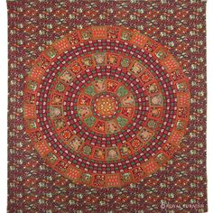 INDIAN MANDALA HIPPIE WALL HANGING TAPESTRY THROW BEDSPREAD ETHNIC DECOR ART