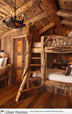 Daily Afternoon Chaos (39 Pictures) | Funny Pictures, Quotes, Pics, Photos.  Best Bunk BedsLog Cabin BedroomsCabin ...