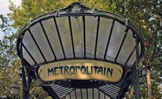 Paris, Station métro Abbesses (art nouveau 1900)  By Alain Chantelat