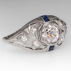 1920's Art Deco Engagement Ring