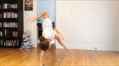 Wrong way cartwheel 🤘🏻👍🏻💜