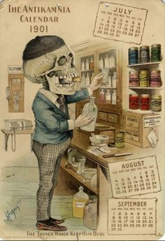 Antikamnia calendar 1901 by mkezzler, via Flickr