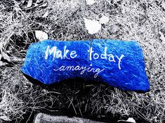 Make Today Amazing by Zinvolle Art Drink Sleeves, Grateful, Objects, Wall Art, Feelings, Friends, Day, Amazing, People