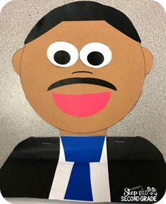 Students create this fun MLK booklet.