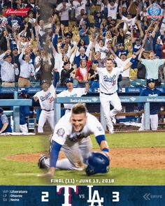 a2cd7acfd RECAP: @kikehndez dances in the winning run for the Dodgers first walk-off  of the season a 3-2 win over Rangers. Dodgers.com/news   #LADetermined