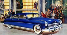 Plan59 :: Classic Car Art :: 1949 Hudson Commodore
