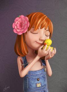 3D Kid Character #3D #Kid #Character
