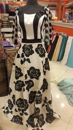 #jacquard#skirt#umbrella-cut#black#white#