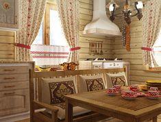 деревенский интерьер в русском стиле: 24 тыс изображений найдено в Яндекс.Картинках