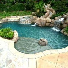 non-rectangular pools <3