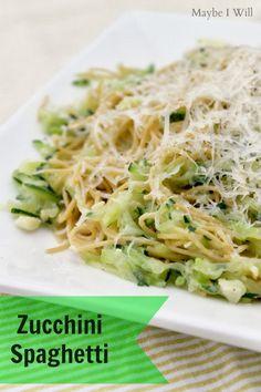 Zucchini Spaghetti -