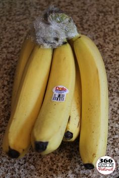 Make bananas last longer with plastic wrap