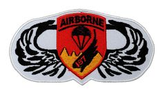 Airborne Military Army Costume DIY Applique Embroidered Sew Iron on Patch AB-001 >>> Find out more about the great item at the image link.