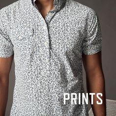 Elk Head Clothing @elkheadclothing printed short sleeve popover #menswear