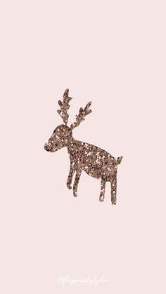 Christmassy Dear Wallpaper