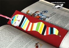 You won't lose your place in your favorite book with a fun bookmark! Make one or more of these 14 Awesome Bookmark Crafts for eager Bookworms like yourself! Bookmark Craft, Bookmarks, Art For Kids, Crafts For Kids, Kid Art, Craft 2016, Paper Crafts, Diy Crafts, Art Classroom