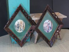 Colonial Oval Prints in Fancy Diamond Shaped by 13thStreetEmporium, $25.00