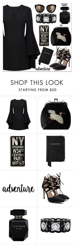 """""""Yoins"""" by nerma10 ❤ liked on Polyvore featuring Home Decorators Collection, Aspinal of London, Elie Saab, De Beers, yoins, yoinscollection and loveyoins"""