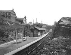 Disused Stations: Liscard & Poulton Station Abandoned Train Station, Disused Stations, New Brighton, British Rail, Blackpool, Steam Locomotive, Great British, Model Trains, Railroad Tracks