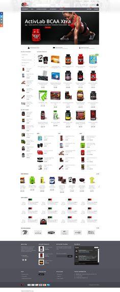 Wdrożenia Magento - sklep internetowy z suplementami diety