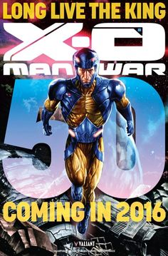 "Valiant Teases ""X-O Manowar"" #50 From #ValiantSummit - Comic Book Resources"