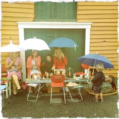 Søstrene Søt & Sur, Skudeneshavn Patio, Spaces, Outdoor Decor, Home Decor, Decoration Home, Room Decor, Home Interior Design, Home Decoration, Terrace