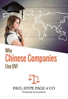 Why do so many Chinese companies use BVI? - Paul Hype Page & Co Chartered Accountant, Chinese, Business, Store, Business Illustration, Chinese Language