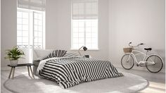 Design Thinking, Nordic Interior Design, Healthy Living Quotes, Minimalist Scandinavian, Online Furniture Stores, Build Your Brand, Modern Bedroom, Bedroom Classic, Decorating Blogs