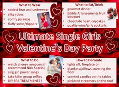 V Day Single Girls Ultimate Party