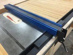 Tischkreissäge Zaun mit inkrementellen Positionierung (Pläne)