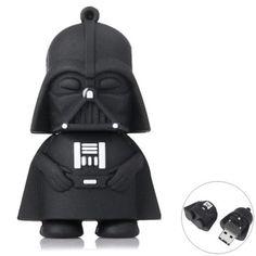 32GB Star Wars Darth Vader Style USB 2.0 Flash Memory-$14.84 and Free Shipping