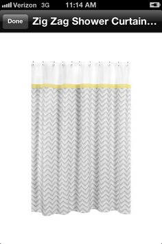 Grey chevron curtain joss & main