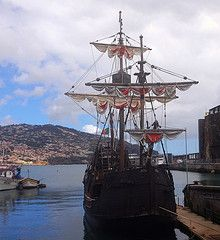 Santa Maria (tedesco57) Tags: santa wood columbus ship maria explorer christopher replica sail madeira colombo funchal
