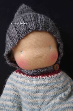 THOR, pixie bonnet for boy: new pattern in my shops (etsy & ravelry) http://www.ravelry.com/stores/winterludes-dolls-designs https://www.etsy.com/shop/winterludes?ref=listing-shop-header-item-count