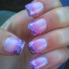 My nails for prom if I get this purple dress I found:)
