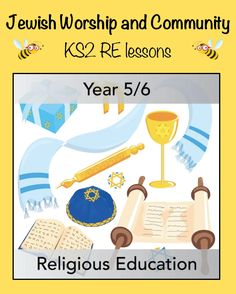 This set of five KS2 RE lessons will help your class to understand the fundamentals of the Jewish faith and how Jews worship at home, in the synagogue, and in the community. Each lesson includes an easy-to-follow plan, a set of informative slides for the teaching input, and differentiated, printable resources - everything you need for some stress-free RE lessons! Worship Meaning, Importance Of Prayer, Religious Education, Picture Cards, Judaism, Primary School, Stress Free, Lesson Plans, How To Find Out