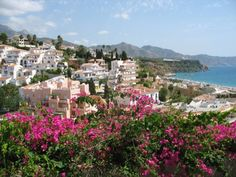 Nerja, Andalucia. I spent most summers here as a child visiting my Grandad. Second home.