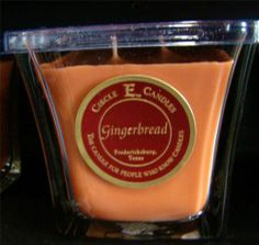 New Circle E Candle Gingerbread 12 oz Jar Discovery Christmas Holiday Spice | eBay