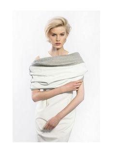 #shawl #fashion #white #classic #elegant