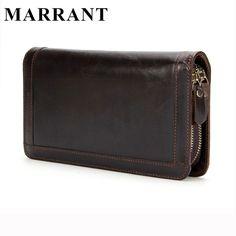 Marrant 2016本革男性財布新しい男財布ダブルジッパー男性財布ファッション男性長財布男のクラッチバッグ9013