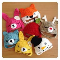 Exceptional Stitches Make a Crochet Hat Ideas. Extraordinary Stitches Make a Crochet Hat Ideas. Crochet Kids Hats, Crochet Cap, Crochet Beanie, Crochet Crafts, Crochet Clothes, Crochet Projects, Knitted Hats, Crochet Toys, Crochet Character Hats
